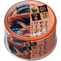 K&K 缶つま さんまとれんこんの炊き合わせ 160g×48缶入 【配送区分A】hs