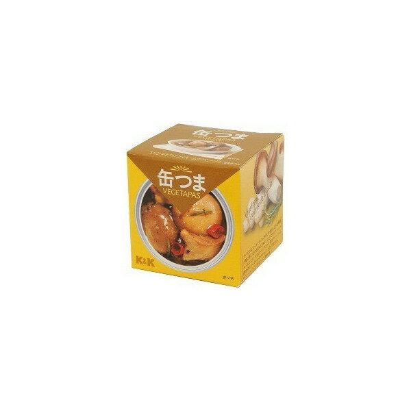K&K 缶つま エリンギとマッシュルームのアヒージョ 55g×24缶入 【配送区分A】hs