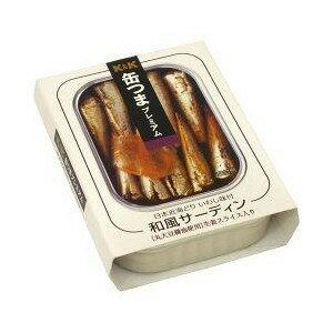 K&K 缶つま 和風サーディン 105g×48缶入 【配送区分A】hs