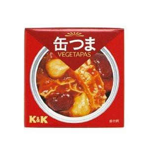 K&K 缶つま トリッパビーンズ 75g×24缶入 【配送区分A】hs