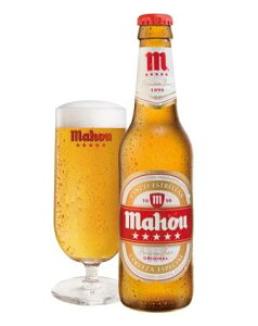 スペインNo.1ビール【スペイン】【ビール】《ユーロペールラガー》 マオウ・シンコ・エストレー...