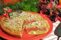 苺とピスタチオのクリスマスアップルパイ_1
