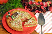 苺とピスタチオのクリスマスアップルパイ_3