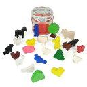 【ハバ 木のおもちゃ ミニランドファミリー】HABA ドイツ製 木製玩具 ごっこあそび 積……