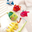 【HABA お風呂のおもちゃ さかなつりゲーム】ハバ 水遊び 魚釣りプレゼント ギフト 誕生日 ハーフバースデー■あす楽