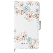 ポールアンドジョー/iPhone8/7/6s/6/対応/スマホケース/手帳型/ポール&ジョー/クリザンテーム/ホワイト