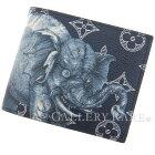 ルイヴィトンモノグラムポルトフォイユ・マルコNMM66467LOUISVITTONヴィトン財布アンクルチャップマン・ブラザーズエレファント象