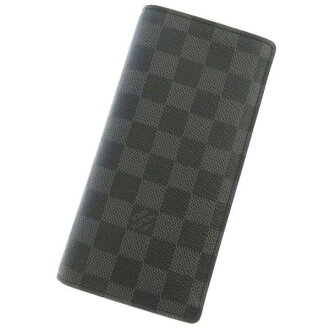 Louis Vuitton long wallet Damien grab fit wallet and brothers ni62665 LOUIS VUITTON Vuitton wallet mens