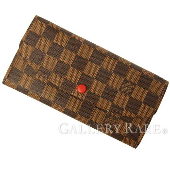 ルイヴィトン長財布ダミエポルトフォイユ・エミリーN63544LOUISVUITTONヴィトン財布