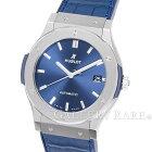 ウブロクラシックフュージョンチタニウムブルー511.NX.7170.LRHUBLOT腕時計【安心保証】【中古】