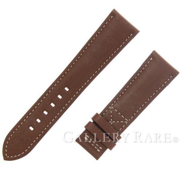 パテックフィリップ spare belt calf genuine belt PATEK PHILIPPE leather belt watch brown 21-16 D buckle use