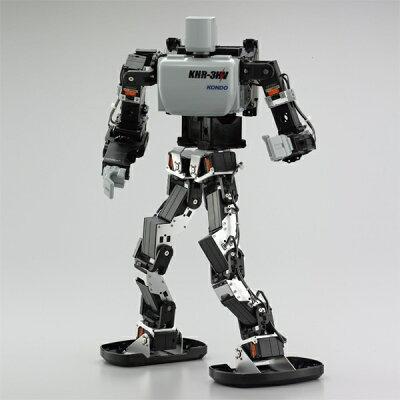 二足歩行ロボット組立キット「KHR-3HV Ver.2」 [ガチバトル1付]