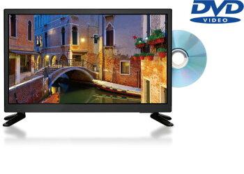 DVDプレーヤー内蔵 19インチ 地上波デジタル液晶テレビフルスペック DVD再生機能付き ハイビジョンモデル19型 モニター 壁掛け対応テレビ