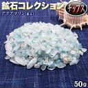 《3月の誕生石》アクアマリン[藍玉]・鉱石コレクション チップス 〈約50...
