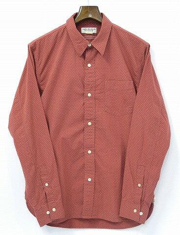 トップス, カジュアルシャツ  PHIGVEL () POLKADOT SHIRT 2 SEPIA RED 13SS