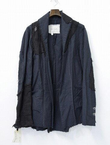 メンズファッション, コート・ジャケット  GREG LAUREN () THE EXTENDED SHAWL COLLAR 1 BLACK