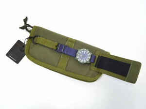 【】Luminox×EDIFICE×BRIEFING(ルミノックス×エディフィス×ブリーフィング)Luminox3050EDIFICEV2トラベルケースウォッチ腕時計KHAKI×NAVY