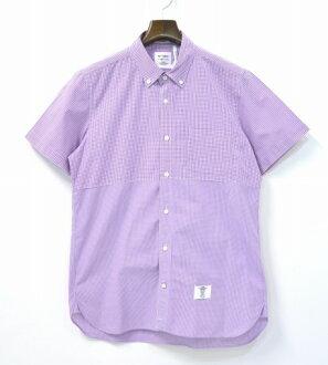 貝德 & 撕心裂肺 (貝都因人 & 撕心裂肺) 不銹鋼廣泛 CH 一半圖案襯衫