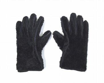 【中古】 UNUSED (アンユーズド) シープスキングローブ BLACK 17AW UH0450 SHEEP SKIN GLOVE 手袋
