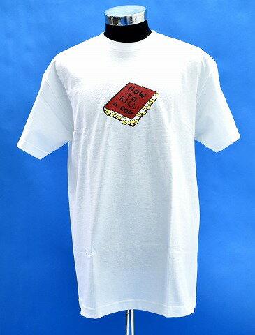 トップス, Tシャツ・カットソー  WHIMSY () HOW TO KILL A COP TEE T Print tee logo SS T SS T-SHIRT WHITE L