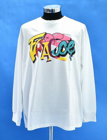 トップス, Tシャツ・カットソー  FACETASM FACE LONG TEE T LS LOGO WHITE 5 MADE IN JAPAN