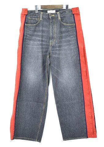 メンズファッション, ズボン・パンツ  FACETASM () BASKETBALL DENIM PANTS BLACK 4
