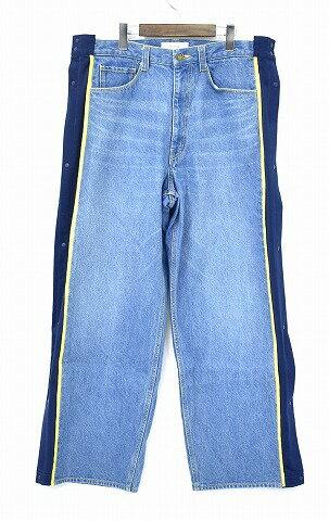 メンズファッション, ズボン・パンツ  FACETASM () BASKETBALL DENIM PANTS INDIGO 4