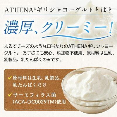 ギリシャヨーグルトATHENA(アテナ)1kg2個セット