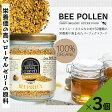 【お得な3個セット:360g】【送料無料】ROYAL GREEN 有機ビーポーレン(非加熱)×3個(約:90日分)・オーガニックみつばち花粉/ロイヤルグリーン【花粉症対策にも】
