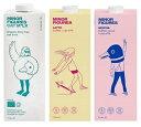 【3月28日入荷予定】オーツミルクお試し3本セット(ノーマル・ラテ・モカ) 1L×3本[ 送料無料 MINOR FIGURES マイナーフィギュアズ オーガニック JAS 認定 オーツ麦 オーツ ヴィーガン ビーガン ミルク 砂糖不使用 無添加 オートミルク ]