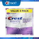 【エクスプレス便】 Crest 3D Brilliancemint 4.1oz pack of 3  エクスプレス便 【116g お得な3本セット】 4.1oz クレスト Crest 3Dホワイト ブリリアンスミント 3本セット・・・