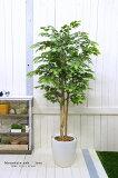 フェイクグリーン マウンテンアッシュ高さ1.8m 大型 人工観葉植物 観葉 植物 光触媒付 人工植物 インテリアグリーン インテリア おしゃれ プランター イミテーショングリーン 造花 鉢植え リアル 幹 枝