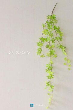 フェイクグリーン シサスバイン スプリンググリーン色 ハンギング 長さ80cm 人工観葉植物 かわいい おしゃれ 光触媒 防菌 消臭 造花 インテリア グリーン 幹 シッサス 枝 壁 枝 吊り下げ ミニ