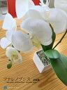 胡蝶蘭/ファレノプシス白色高さ約40cm造花コチョウラン造花フェイクグリーンインテリアグリーン人工観葉...