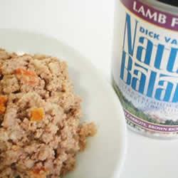 【ナチュラルバランス】ラム&ブラウンライス缶 1缶(369g)