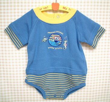 クッキーモンスターの【SESAME STREET BABY】ロンパース・USセレクトブランドベビー服