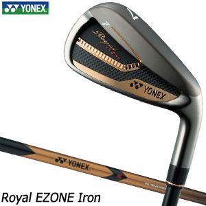 [セール]ヨネックス Royal EZONE アイアン 単品[#5、#6、AW、AS、SW] XELA for Royal シャフト