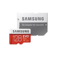 【128GB】サムスンmicroSDXCカードマイクロSDSamsungEVOPlusClass10UHS-IU3SDアダプター付MB-MC128GA/EU海外パッケージ品
