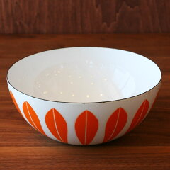 CathrineHolm Lotus bowl(20cm) orangereaf-a