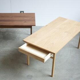 グリニッチ無垢の家具|ドロワーテーブル