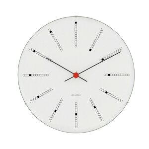 Arne Jacobsen Wall Clock 210mm Bankers (1971)   時計 クロック ウォールクロック 壁掛け 壁掛け時計 アルネヤコブセン ヤコブセン デザイン デザイナー ローゼンダール バンカーズ 丸 シンプル おしゃれ 北欧 デンマーク お洒落 電池式
