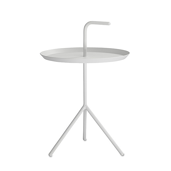 【 送料無料 】 HAY (ヘイ) サイドテーブル DLM SIDE TABLE ホワイト パウダー仕上げ φ380mm   テーブル リビングテーブル コーヒーテーブル リビング ダイニング 北欧家具 インテリア スチール 白 インダストリアル シンプル おしゃれ デンマーク 北欧