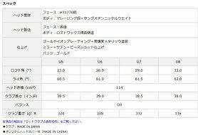 DUNLOPXXIOPRIMEUTILITYSP-900U5,U6,U7Rダンロップゼクシオプライムユーティリティ純正カーボンシャフト