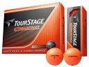 BRIDGESTONE TOURSTAGE EXTRA DISTANCE TEOX ORANGE ブリヂストン ツアーステージ エクストラディスタンス オレンジ ボール 2ダースパック 24球 ゴルフ