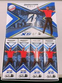 ブリヂストンツアーBXSタイガーウッズリミテッドモデル2ダースパックボールBRIDGESTONETOURBXSTigerWoodsBallゴルフ2020年モデル
