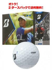 ブリヂストンツアービーエックスエスタイガーウッズ2020エディションホワイト2ダースパックBRIDGESTONETOURBXSTigerwoodsゴルフボール