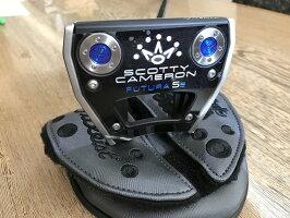 ScottyCameron2017NEWPORT2MOTOPLUSBLUE34インチスコッティキャメロンニューポート2モトプラスブルーパターゴルフ