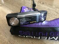 ScottyCameron2017NEWPORTMOTOPLUSPURPLE34インチスコッティキャメロンニューポートモトプラスパープルパターゴルフ