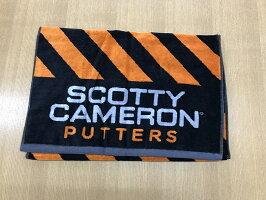 ScottyCameronCAUTIONSTRIPETOWELORANGEスコッティキャメロンカウションストライプタオルオレンジ