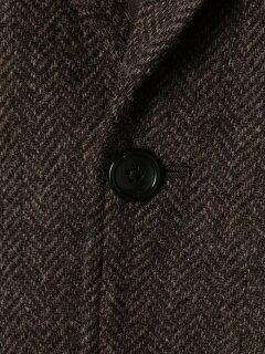 Mallalieus Tweed Jacket 3222-199-0305: Brown Herringbone
